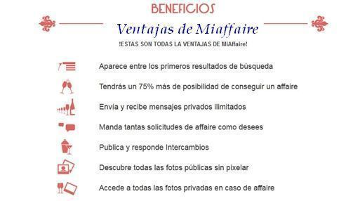 beneficios de miaffaire