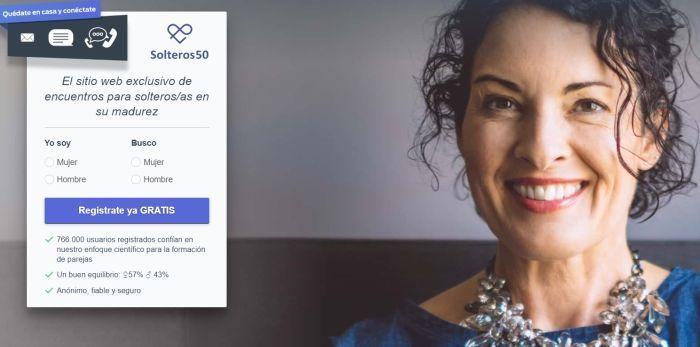 web de dating solteros 50