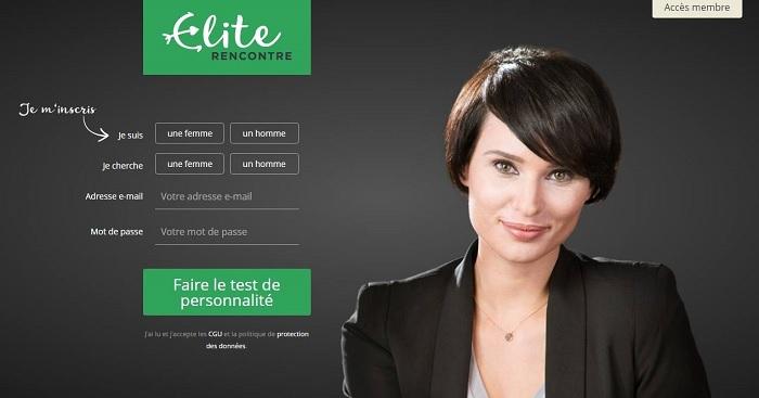 Elite se encuentra con el sitio de citas de alta gama